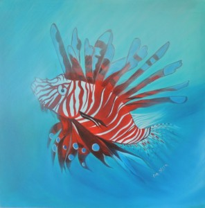 lion fish by Lyn Olsen