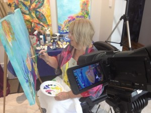 Lyn Olsen CIYL filming