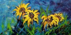 lyn olsen sunflowers