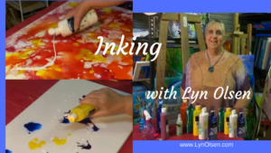 inking with Lyn Olsen
