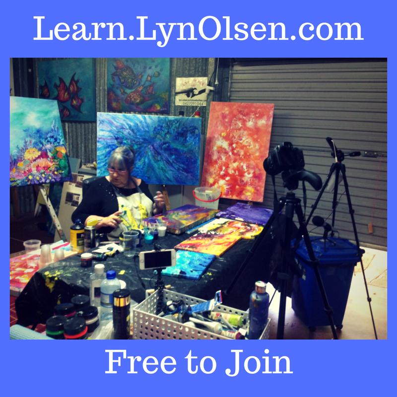 Lyn Olsen studio