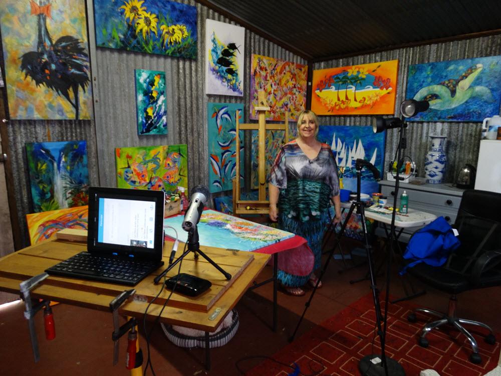 Lyn Olsen studio recording